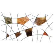 Spiderwebs Metal Wall Decor