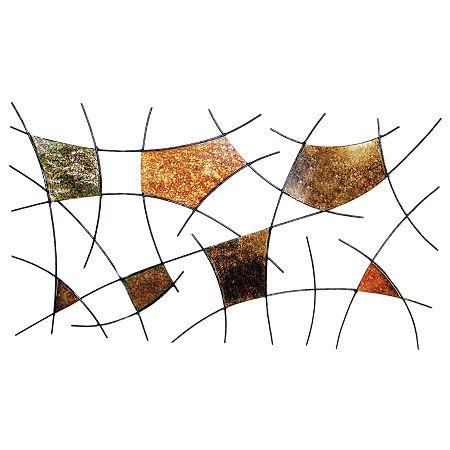 Spiderwebs Metal Wall Decor