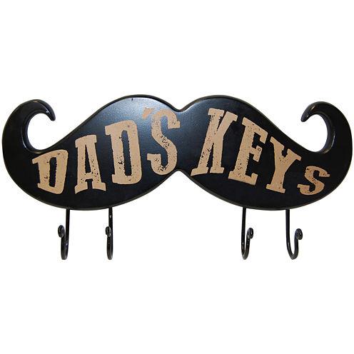Dad's Keys Wall Decor