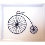 Metal High-Wheel Bicycle A Wall Decor