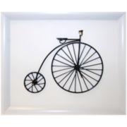 Metal High-Wheel Bicycle B Wall Decor
