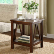 Titian End Table in Antique Tobacco