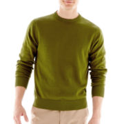 jcp™ Cotton Crewneck Sweater