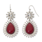 Mixit™ Red Teardrop Earrings