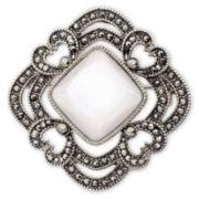 Liz Claiborne® Vintage-Look Boxed Brooch