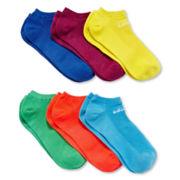 adidas® 6-pk. No-Show Superlite Socks