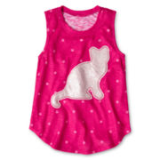 Arizona Critter Sequin Tank Top - Girls 6-16 and Plus