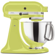 KitchenAid® Artisan® 5-qt. Stand Mixer + Free Glass or Ceramic Bowl by Mail