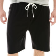 The Foundry Supply Co.™ Solid Knit Sleep Shorts-Big & Tall