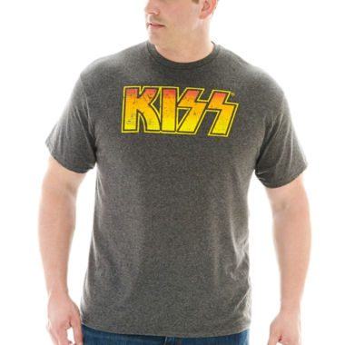 jcpenney.com | Kiss Graphic Tee-Big & Tall