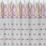 Creative Bath™ Silk Road Elephants Shower Curtain