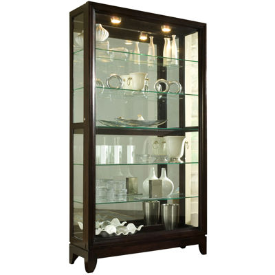 Easton 46  Sliding Door Curio Cabinet  sc 1 st  JCPenney & Easton 46