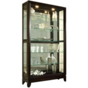 "Easton 46"" Sliding Door Curio Cabinet"