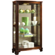 Hopkins Mantle Curio Cabinet