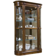 """Wakefield 50"""" Curved Curio Cabinet"""