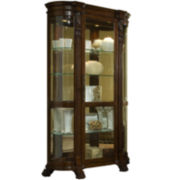 "Richmond 53"" Curved Curio Cabinet"
