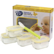 Glasslock® Baby Mini 9-pc. Rectangular Container Set with Spoon