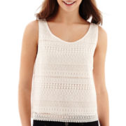MNG by Mango® Sleeveless Lace Top
