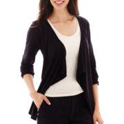 Liz Claiborne® Cozy Knit Cardigan