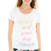 Insomniax® Short-Sleeve Graphic Sleep T-Shirt