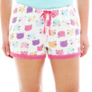 Insomniax® Knit Sleep Shorts - Plus