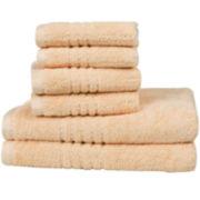 Clay & Cotton Quick Dry 6-pc. Towel Set