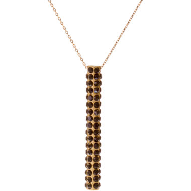 jcpenney.com | RODRIGO-BRAVE Black Crystal Pendant Necklace