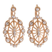 "telio! by Doris Panos Rose-Tone ""Daphne"" Marquise Earrings"
