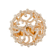 telio! by Doris Panos Amore Rose-Tone Ring