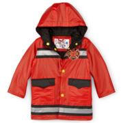 Wippette Fireman Rain Slicker - Boys 2t-4t