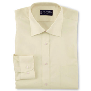 jcpenney.com | Stafford® Travel Easy-Care Broadcloth Dress Shirt–Big & Tall