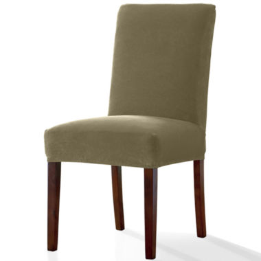 jcpenney.com | SURE FIT® Stretch Piqué Dining 1-pc. Chair Slipcover