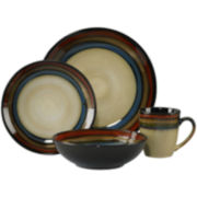 Pfaltzgraff® Galaxy Red 16-pc. Reactive Glaze Dinnerware Set