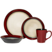 Pfaltzgraff® Aria 16-pc. Dinnerware Set - Red