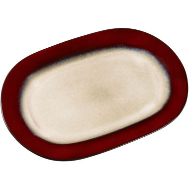 "jcpenney.com | Pfaltzgraff® Aria 15"" Oval Serving Platter"