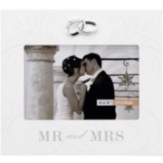 "Mr. & Mrs. 4x6"" Picture Frame"