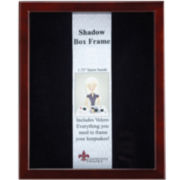 Wood Shadowbox Picture Frame