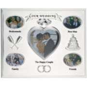 Silver-Plated Wedding Picture Frame