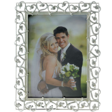 jcpenney.com | Silver-Plated Intertwining Hearts Picture Frame