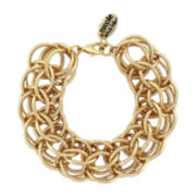 nicole by Nicole Miller® Gold-Tone Large Link Bracelet
