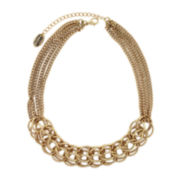 nicole by Nicole Miller® Gold-Tone Large Link Necklace