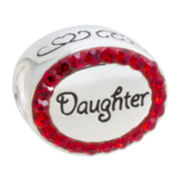 Forever Moments™ Daughter Crystal Charm Bracelet Bead