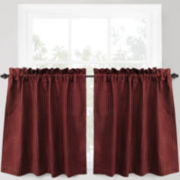 Park B. Smith Cortina 2-Pack Rod-Pocket Window Tiers
