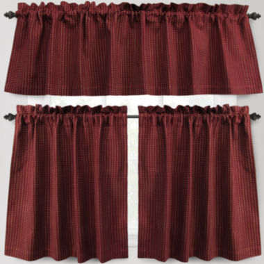 jcpenney.com | Park B. Smith Cortina Rod-Pocket Kitchen Curtains
