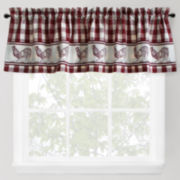 Park B. Smith Provencial Rooster Rod-Pocket Valance