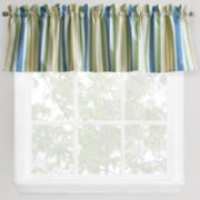 Park B. Smith Cape Cod Striped Rod-Pocket Valance
