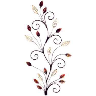jcpenney.com | Spiral Autumn Metal Wall Decor