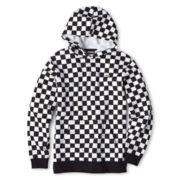 Vans® Checkered Pullover Hoodie - Boys 8-20