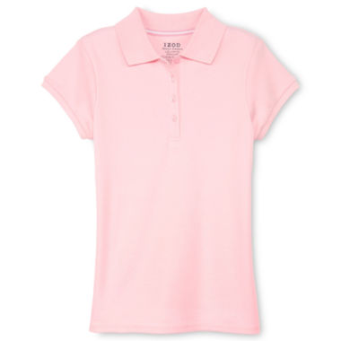 jcpenney.com | IZOD® Fashion Polo Shirt - Girls 4-18 and Girls Plus