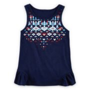 Arizona Tribal-Print Tank Top - Preschool Girls 4-6x